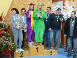podium tournoi Noel Castres